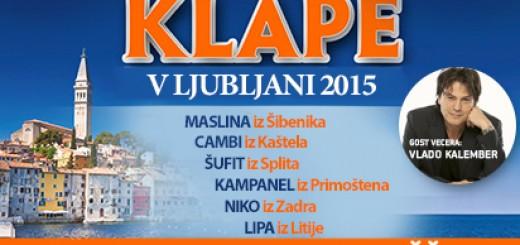 Klape v Ljubljani, 28.2.2015 3