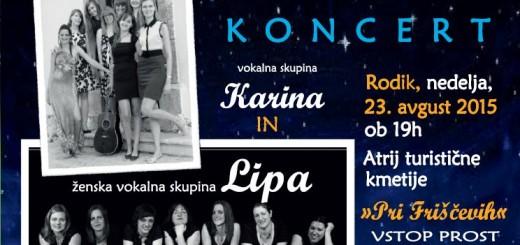 Pesem na vasi-v goste k VS Karina 2