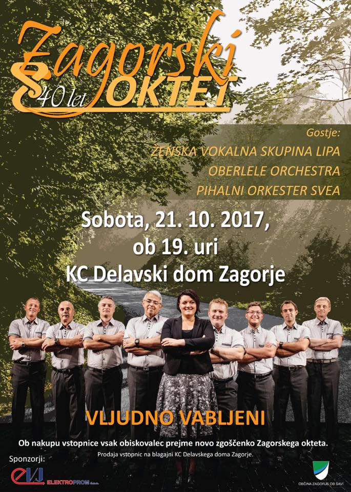 Zagorski oktet-40.let-PLAKAT