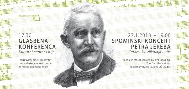 Koncert in konferenca ob izdaji notne zbirke Petra Jereba 5